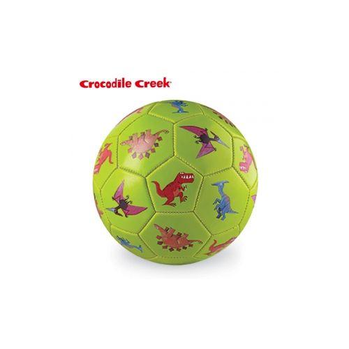 ★衛立兒生活館★美國Crocodile Creek 3號兒童運動遊戲足球7吋--恐龍世界