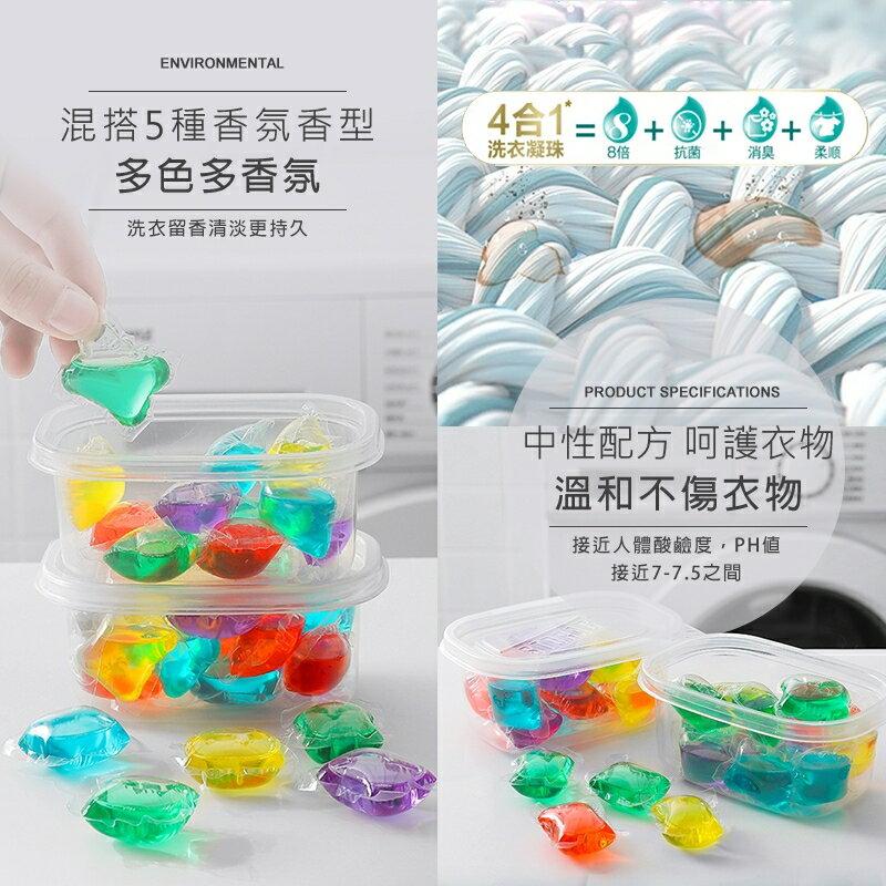 洗衣凝珠球【8倍超濃縮 一顆1元】洗衣膠球 洗衣球 洗衣精 衣物芳香劑