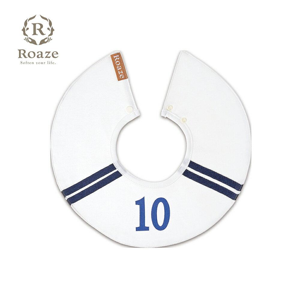 【Roaze】柔仕純真圍兜 10號球員(白)
