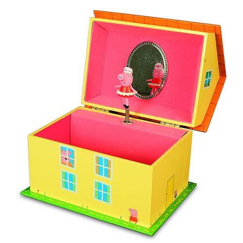 【粉紅豬小妹】音樂珠寶盒PE02481
