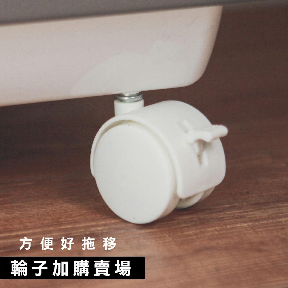 收納櫃 斗櫃 果凍系列收納箱 輪子 完美主義【F0071-C】