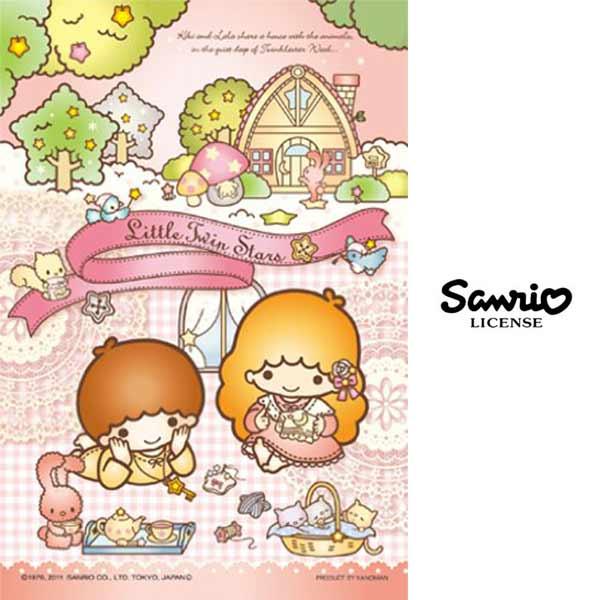 下午茶款~ ~ 製 雙子星 KIKILALA 204片 森林的朋友們 拼圖 三麗鷗 San