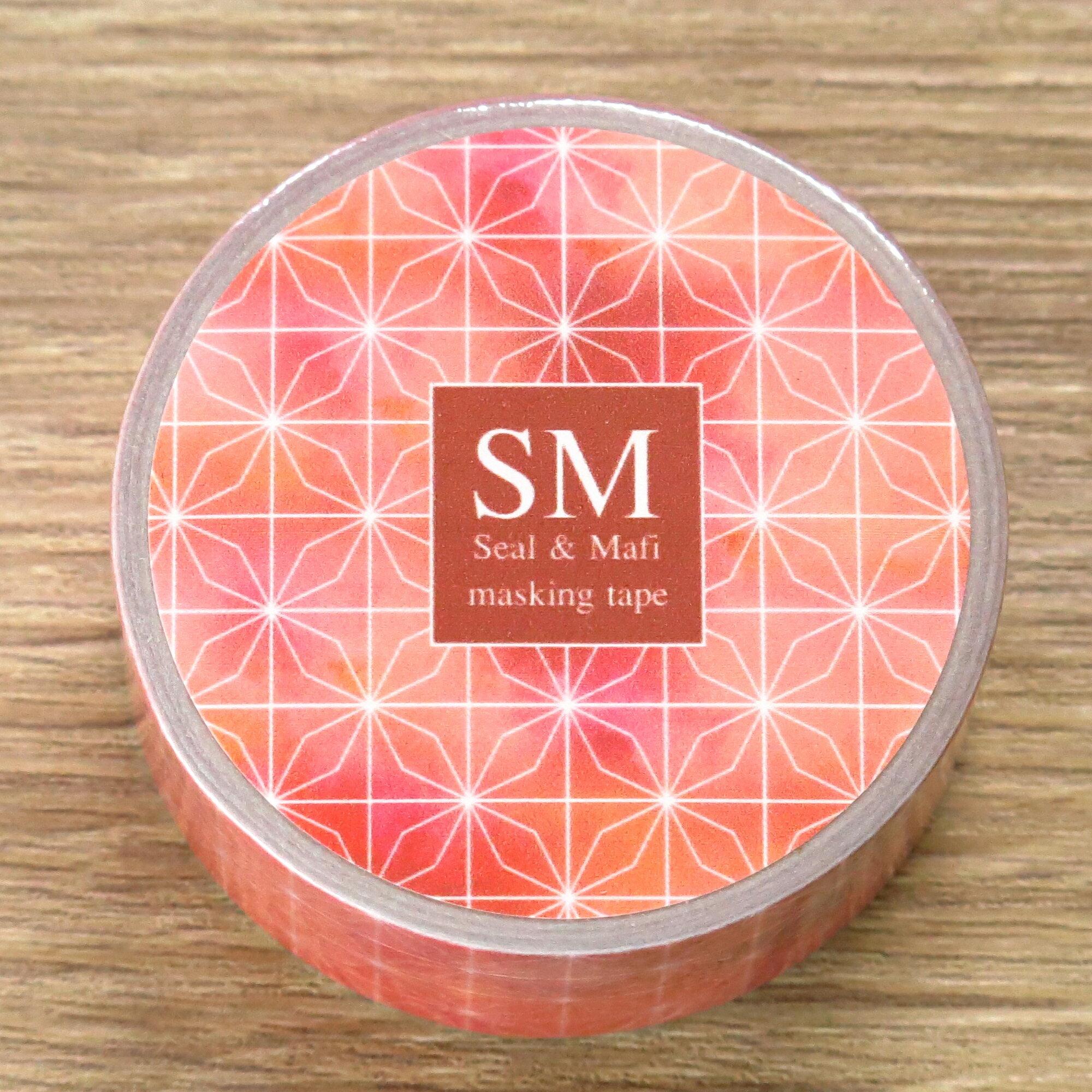 【SM工房】窗花系列紙膠帶 - 繽紛款(草莓紅)