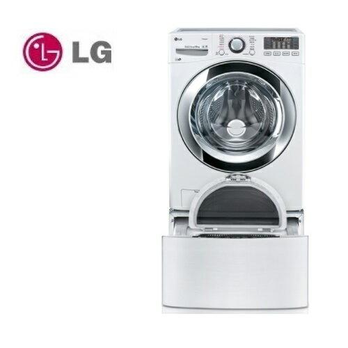 【滿3千,15%點數回饋(1%=1元)】含基本安裝 LG 樂金 TWINWash WD-S18VBW (雙能洗)變頻蒸洗脫滾筒洗衣機 18公斤+2.5公斤 典雅白 公司貨
