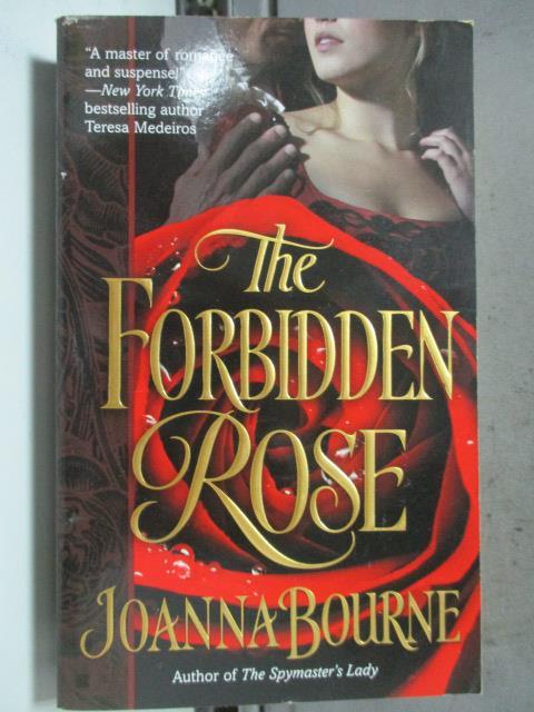 ~書寶 書T6/原文小說_HHF~The Forbidden Rose_Joanna Bo