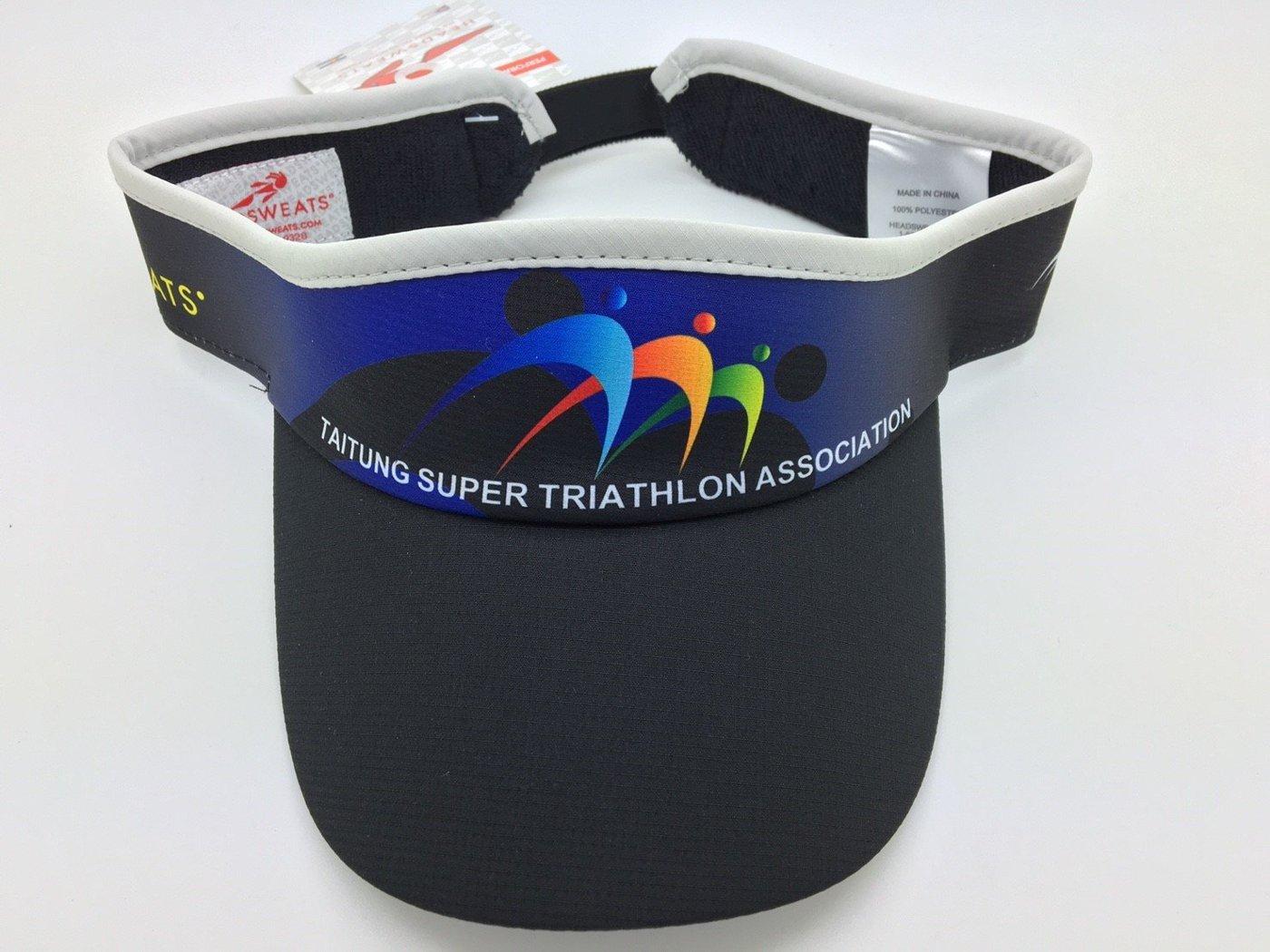 騎跑泳者-HEADSWEATS 汗淂 中空帽 2016 台東超級鐵人三項賽 226公里 超鐵 完賽紀念帽