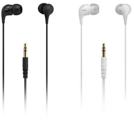 志達電子 AH-C360 DENON 耳道式耳機 公司貨 保固一年 AH-C351新版耳機 (黑/白)