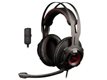 金士頓 Kingston HyperX Cloud Revolver耳罩式耳機麥克風 (HX-HSCR-BK) 公司貨