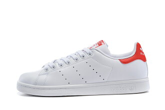 Adidas Originals stan smith 男女情侶鞋 (白紅36-44)
