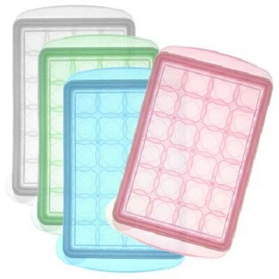 韓國JM Green新鮮凍副食品冷凍儲存分裝盒7.5g-MINI(24格)(4色隨機出貨)