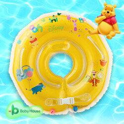 [ Baby House ] Disney 維尼嬰兒游泳脖圈 (學習嬰兒脖圈游泳圈)【愛兒房生活館】