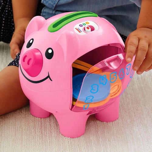 【限量特價】Fisher-Price 費雪 智慧學習小豬撲滿【悅兒園婦幼生活館】 3