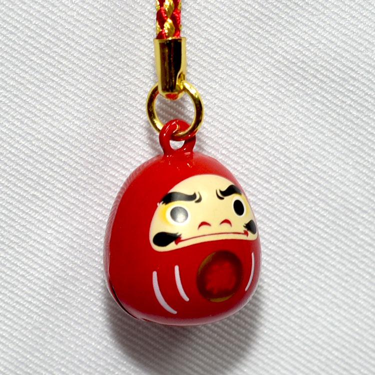 達摩不倒翁 鈴鐺 吊飾 日本帶回