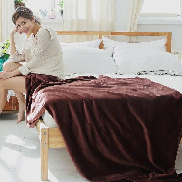 ^~SN^~^#S~FB003咖^#多 纖柔法蘭絨舒眠毯  四季毯  保暖毯^(150x2