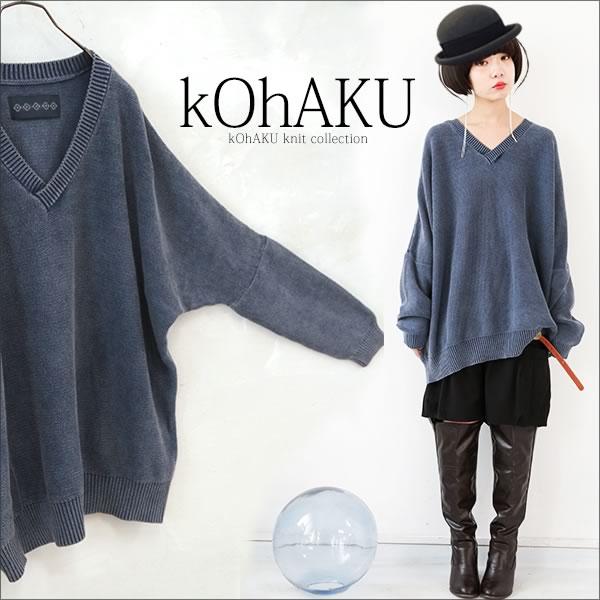 osharewalker 復古風長袖針織衫上衣 / D009D-MI-545。1色(4968)-日本必買代購 / 日本樂天 0