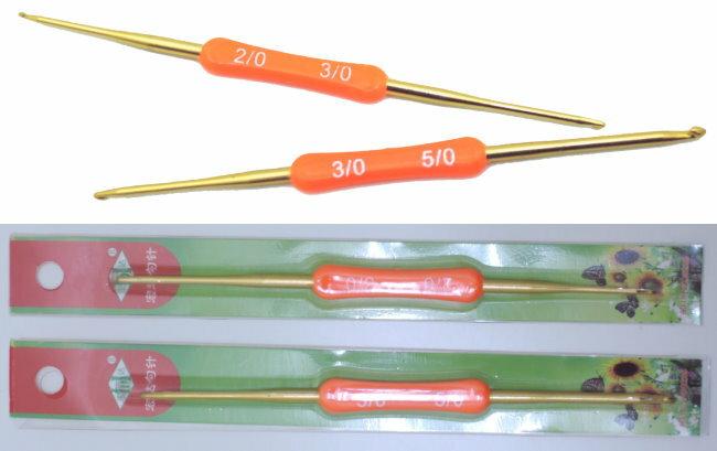 童衣圓【N026】N26雙頭鉤針 編織工具 毛線 鐵製 勾針 鐵鉤針 金屬勾針 創意 DIY 編織 益智 彩虹編織