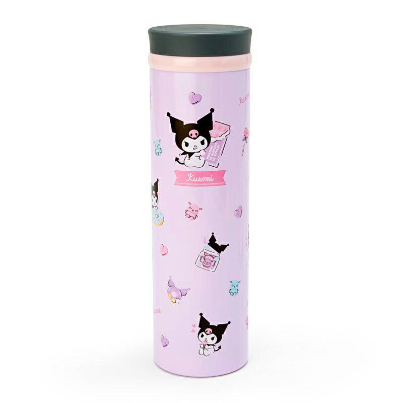旋轉蓋真空不鏽鋼保溫瓶-KITTY MELODY 酷洛米 凱蒂貓 美樂蒂 三麗鷗 Sanrio 日本進口