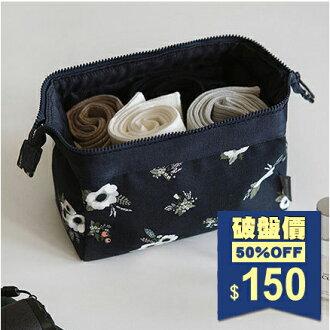 日韓防潑水繽紛大自然立體大容量旅行雜物收納包 洗漱化妝包 手拿包 包飾衣院 K1055 現貨+預購