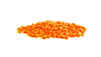 BrickBrick潮帽-橘色積木(Pixcel)