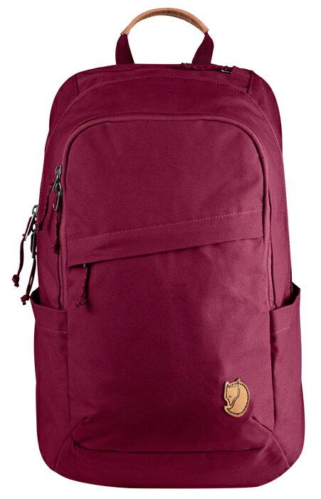 【鄉野情戶外專業】 Fjallraven |瑞典|  小狐狸 Raven 20L 筆電背包/G1000 復古後背包/26051 《紫紅色(420)》