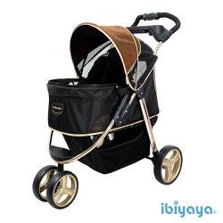 《 IBIYAYA依比呀呀 》尊爵號鋁合金寵物推車 FS1616-G(奢華金)
