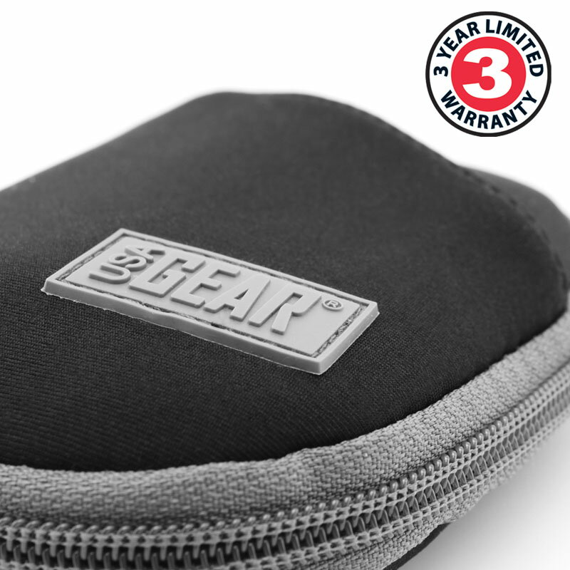USA GEAR Small Multi-Purpose Travel Pouch with Zipper , Storage Pockets & Weather-Resistant Neoprene 1