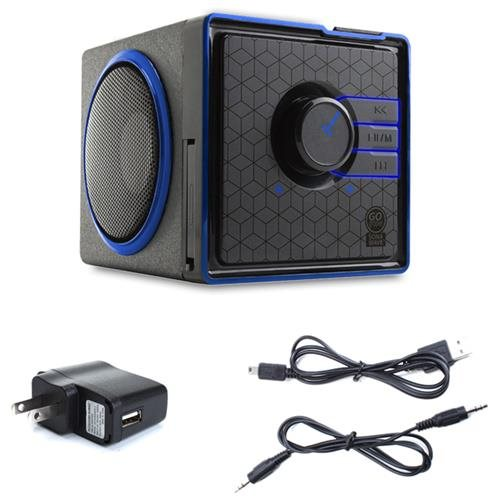 SONAVERSE BX Portable Rechargeable Stereo Speaker System for Sony PSP/ Nintendo 3DS & more 3