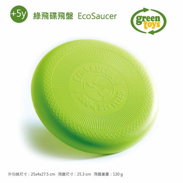 【美國Greentoys】綠飛碟飛盤