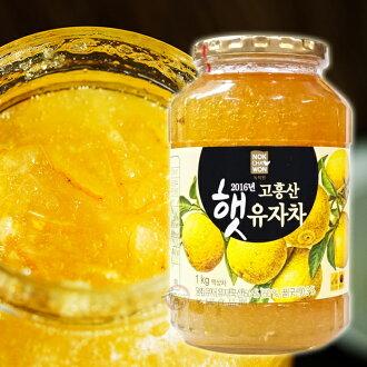 ↘下殺94折 韓國香醇養生蜂蜜柚子茶1Kg  免運2入組 [KR3341910] 健康本味