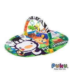 藍色企鵝 PUKU Good Friends健身遊戲毯