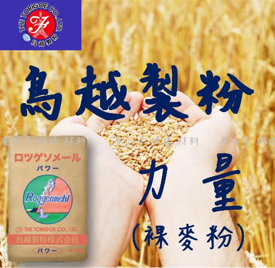 有山羊 手作烘焙材料:【日本鳥越製粉】力量:裸麥粉(約500g包)可以使用於各類吐司.饅頭
