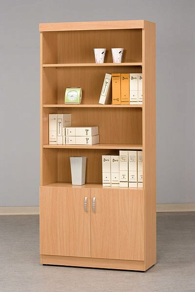 【尚品家具】 CF-525 山毛櫸 2.7尺 二門 書櫃