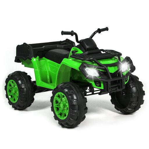 Best Choice Products 12V Powered Extra-Large Kids ATV Quad 4 Wheeler Ride On Spring Suspension MP3 Lights Storage Bin 04441f6b45aac0d4b25ccadbb0050739