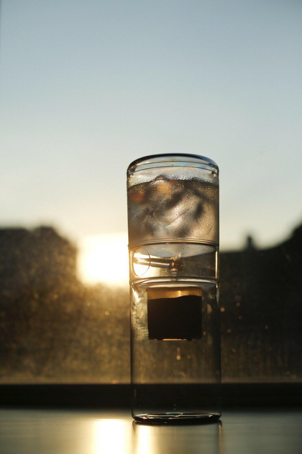 【沐湛咖啡】 超取免運 Driver 設計師冰滴600ml 首創圓形分水網 獨特可調式節水閥 冰滴壺