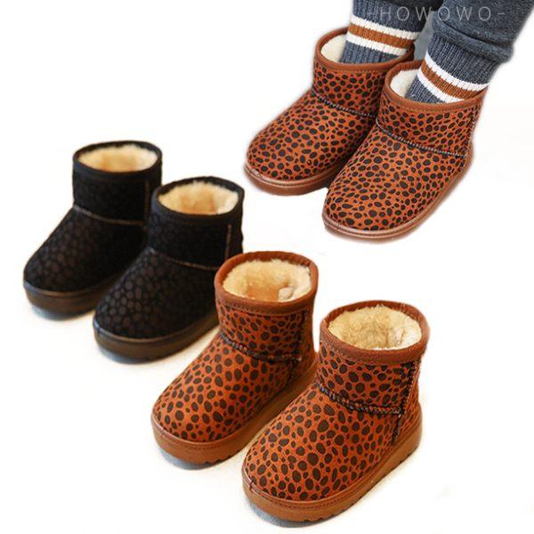 雪靴 加厚寶寶靴 女寶寶 兒童鞋 女童靴 (14-19cm) KL915 好娃娃