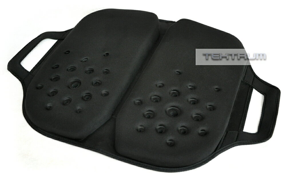 Tektrum Foldable Orthopedic Cool Gel Seat Cushion With Handle For Home,  Office, Car,