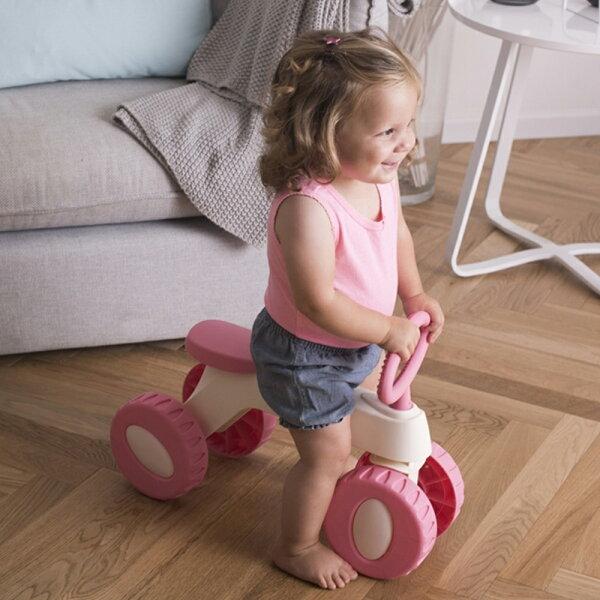 【麗嬰房】法國babytolove寶寶滑步車-粉色(1-3Y)