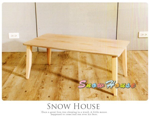 ╭☆雪之屋居家生活館☆╯AA583-01 北歐洗白復古和室桌(柚木色)/餐桌/電腦桌/工作桌/書桌/木製/DIY方式