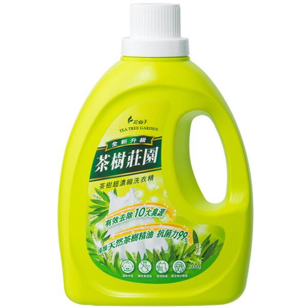 來易購:茶樹莊園茶樹超濃縮洗衣精2000g