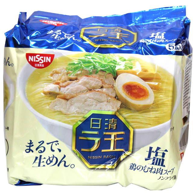 日清麵王5食包麵-鹽味480g袋