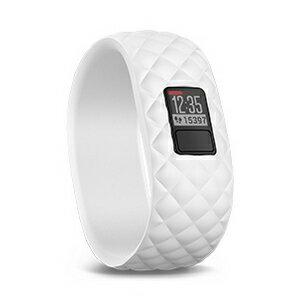 GARMIN vivofit 3 純白波紋雕刻設計錶帶