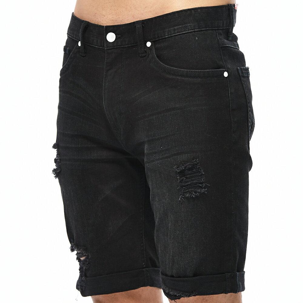 ❤ 短褲$990❤ Lee 牛仔短褲-男款-黑 6