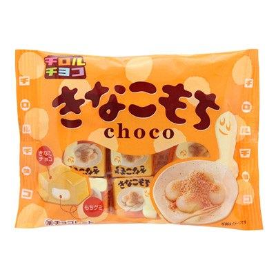 [哈日小丸子]松尾代可可脂巧克力-黃豆粉麻糬(7個)