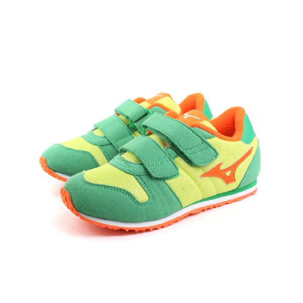 Mizuno 美津濃 運動鞋 童鞋 綠色 中童 no011