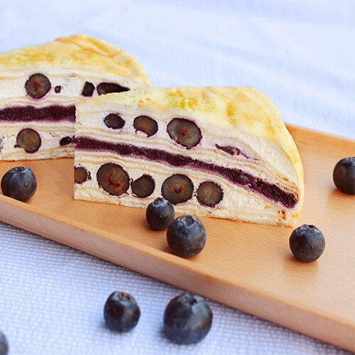 季節限定新品,奢華上市!【塔吉特】藍莓多千層(8吋) 2