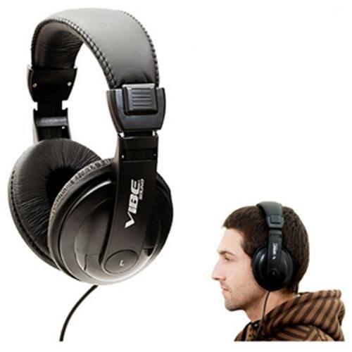 Vibe Sound DJ 750 Noise Reducing Stereo Headphones 3