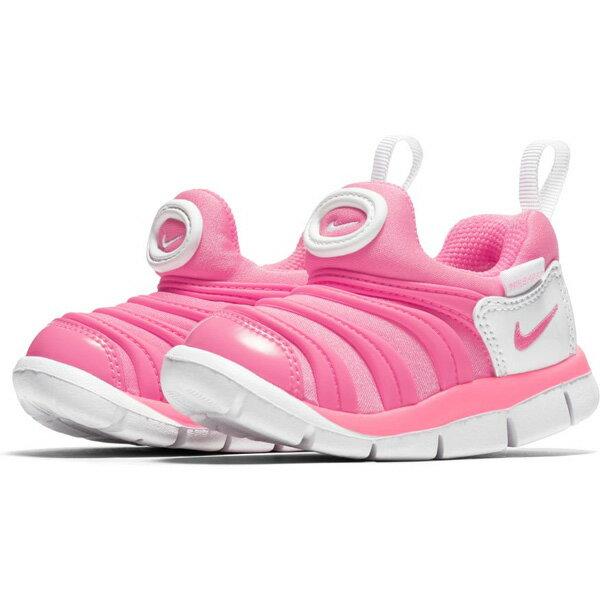 Nike Dynamo Free (TD) 童鞋 小童 慢跑 休閒 毛毛蟲 粉【運動世界】 343938-625