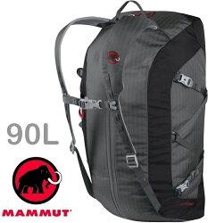 Mammut 長毛象 Cargo Light 旅行袋/手提行李袋/輕量裝備袋 90L 2510-03880 0051鈦金灰