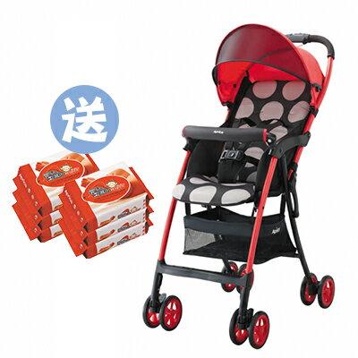 【悅兒樂婦幼用品?】Aprica愛普力卡 Magical air S 超輕量單向嬰幼兒手推車-小太陽【送濕巾20抽x2】
