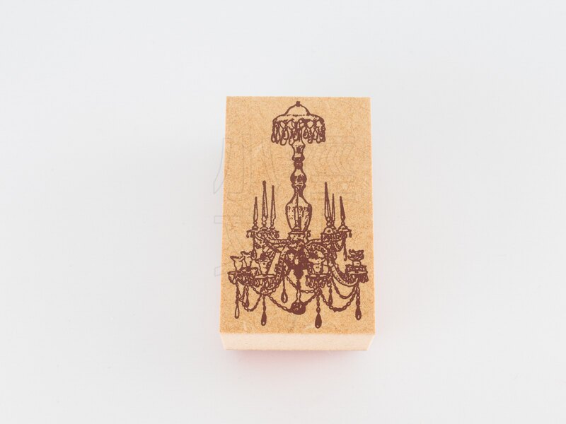 *小徑文化*日本進口手作雑貨 TOKYO ANTIQUE stamp - シャンデリア ( B5030C-S )